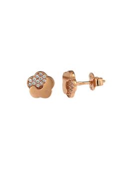 Auksiniai auskarai gėlytės BRV09-02-03