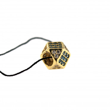 Yellow gold charm AGB05-03