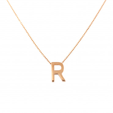 Rose gold pendant necklace CPR33-R-01