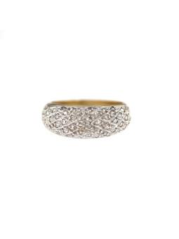 White gold zirconia ring DBC03-01