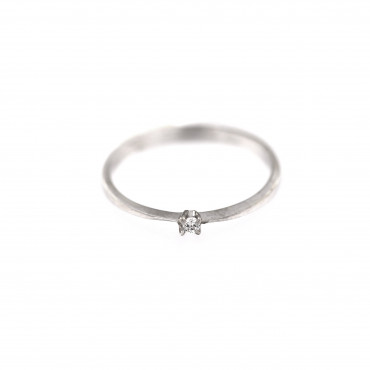 White gold engagement ring DBS01-01-18
