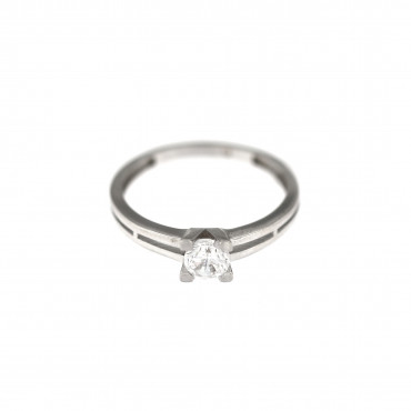 White gold engagement ring DBS01-01-22