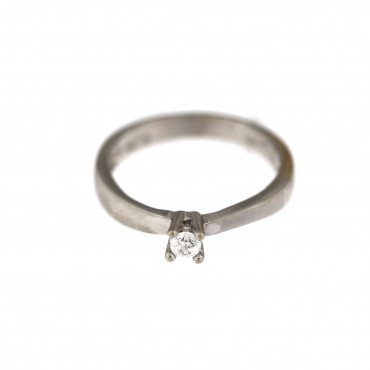 White gold engagement ring DBS01-01-27