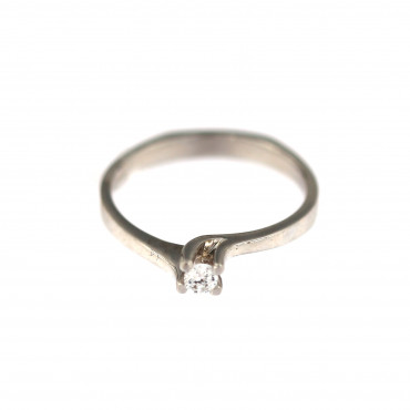 White gold engagement ring DBS01-01-32