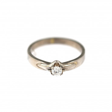 White gold engagement ring DBS01-01-34