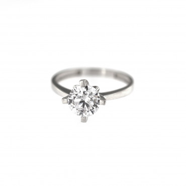 White gold engagement ring DBS01-02-02