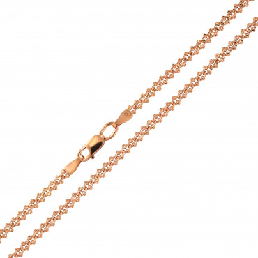 Rose gold chain CRZFP09-2.60MM