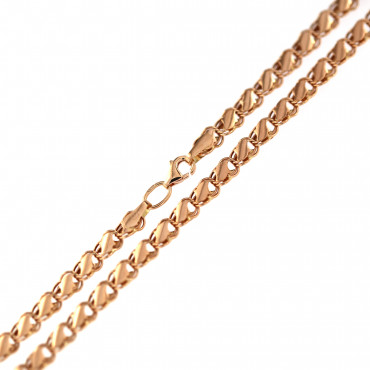Rose gold chain CRZFP04-5.00MM