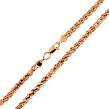 Rose gold chain CRSPFD-4.00MM