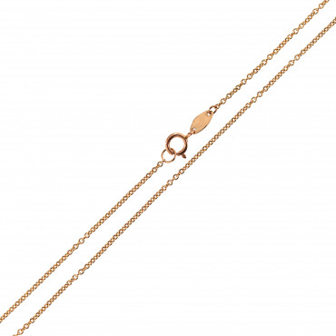 Rose gold chain CRCAB7-0.90MM