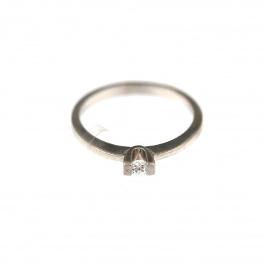 White gold engagement ring DBS01-07-11