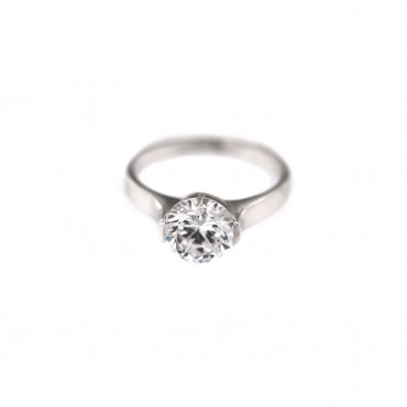 White gold engagement ring DBS01-07-09