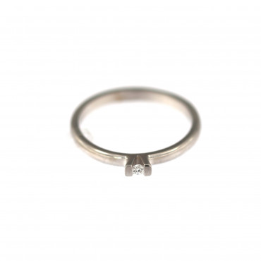 White gold engagement ring DBS01-07-12
