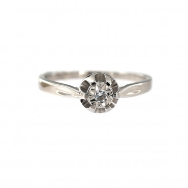 White gold engagement ring DBS01-08-05