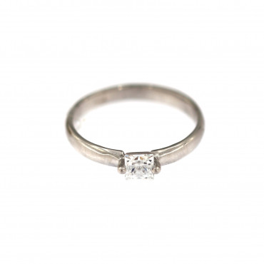 White gold engagement ring DBS01-09-08