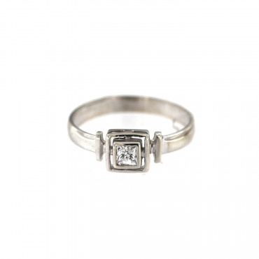 White gold engagement ring DBS01-09-07