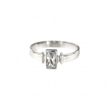 White gold engagement ring DBS01-10-01