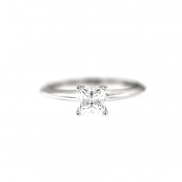 White gold engagement ring DBS01-09-09