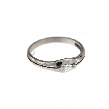 White gold engagement ring DBS01-11-02