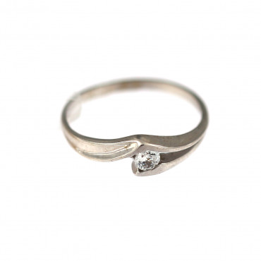 White gold engagement ring DBS01-11-01