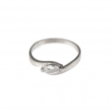 White gold engagement ring DBS01-11-05