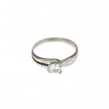 White gold engagement ring DBS01-12-01