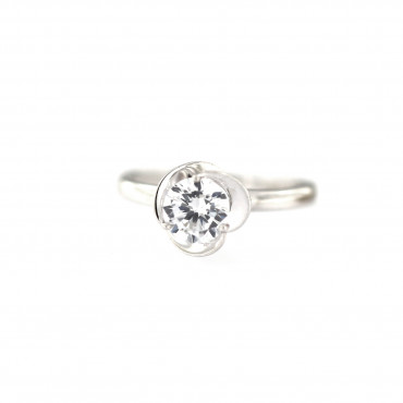 White gold engagement ring DBS01-12-04