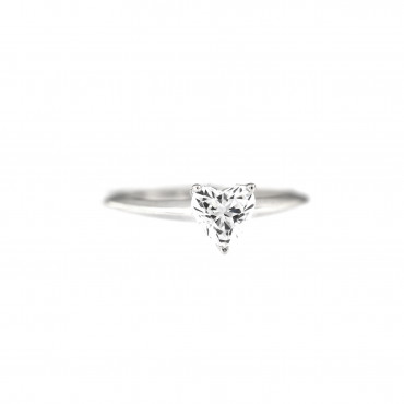 White gold engagement ring DBS01-13-01