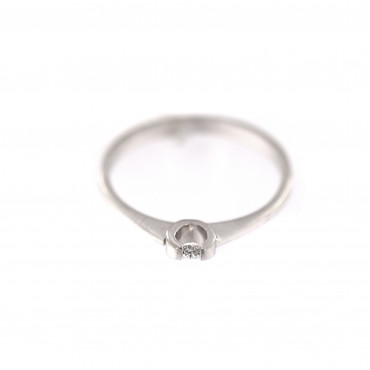 White gold engagement ring DBS01-07-08