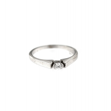 White gold engagement ring DBS01-07-07