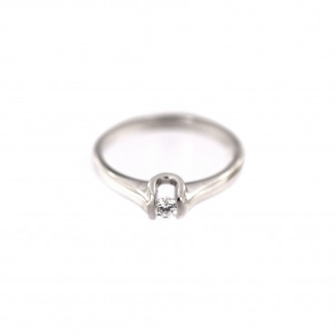 White gold engagement ring DBS01-07-06