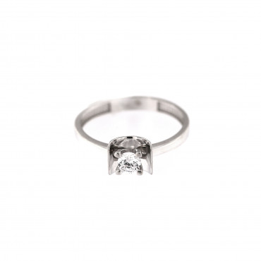 White gold engagement ring DBS01-07-04