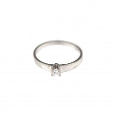 White gold engagement ring DBS01-07-03