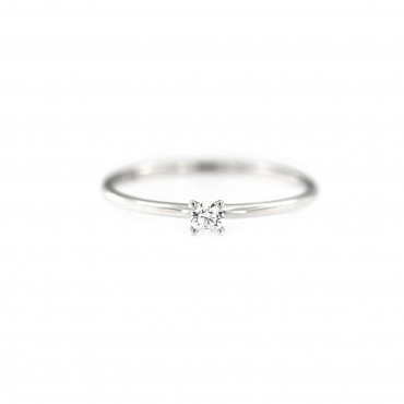White gold engagement ring DBS01-01-05