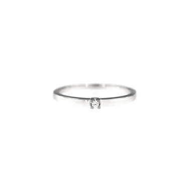 White gold engagement ring DBS01-01-03