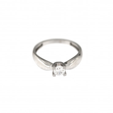 White gold engagement ring DBS01-01-21