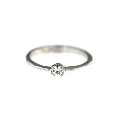 White gold engagement ring DBS01-01-19