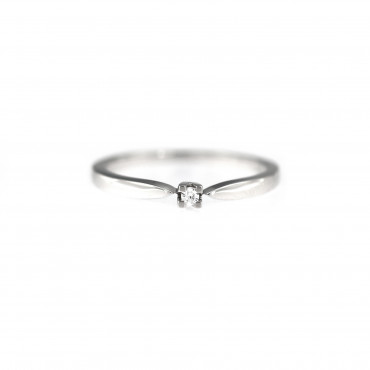 White gold engagement ring DBS01-01-10