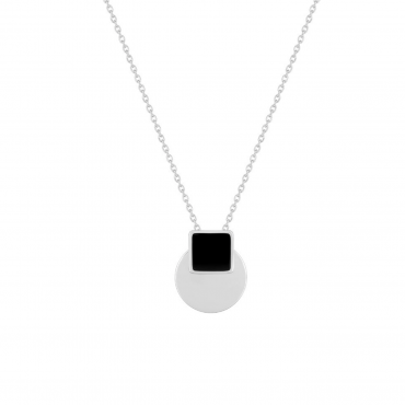 Sterling silver pendant necklace GLG32015.01