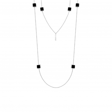 Sterling silver necklace GLG32016.01