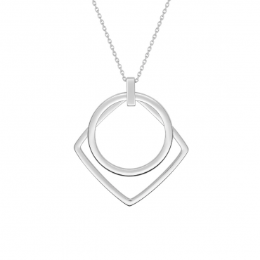 Sterling silver pendant necklace GLG32017.01