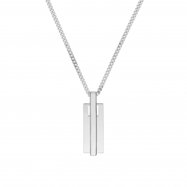 Sterling silver pendant necklace GLG32020.01
