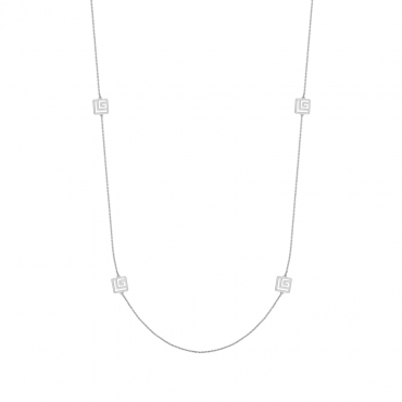 Sterling silver necklace GLG32023.01