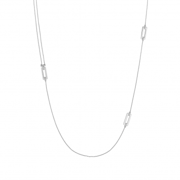 Sterling silver necklace GLG32036.11