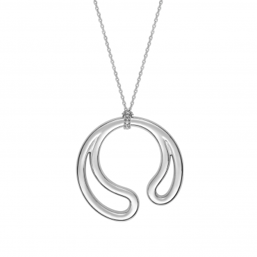 Sterling silver pendant necklace SIS36.57210