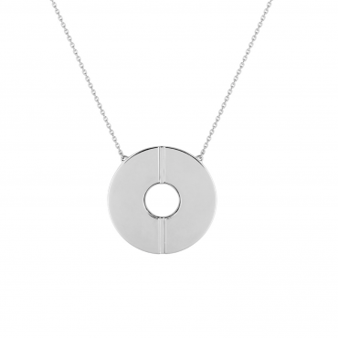 Sterling silver pendant necklace SIS32001.01