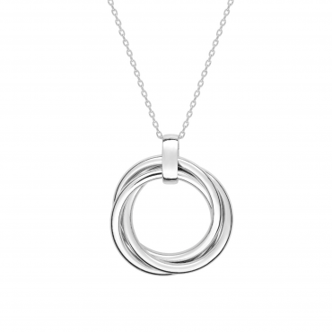Sterling silver pendant necklace SIS32002.01