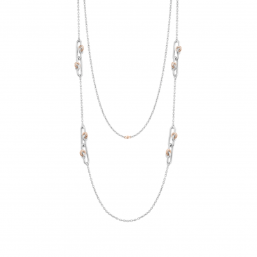 Sterling silver necklace SIS32005.03