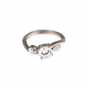 White gold engagement ring DBS04-05-04