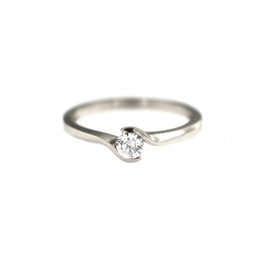 White gold engagement ring DBS04-01-05